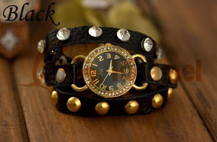 Моднии женские наручние часы JQ!